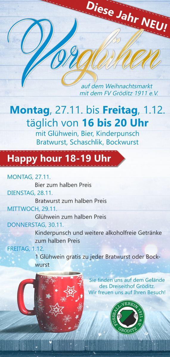 Gröditzer Weihnachtsmarkt mit einem Stand des FVG 1911! : FV-Gröditz ...